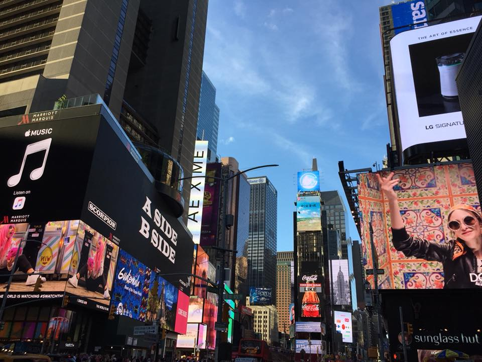 New York, uno scorcio di Broadway