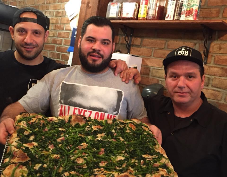 PQR New York, Simone, Raffaele e Umberto