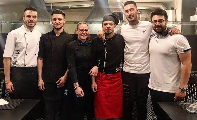 Pharina - Vincenzo Consiglio, Pasquale Della Valle e lo staff
