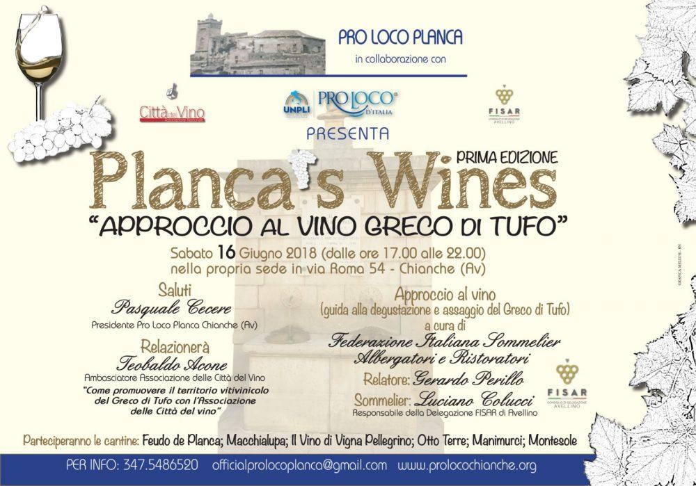 Planca's Wines