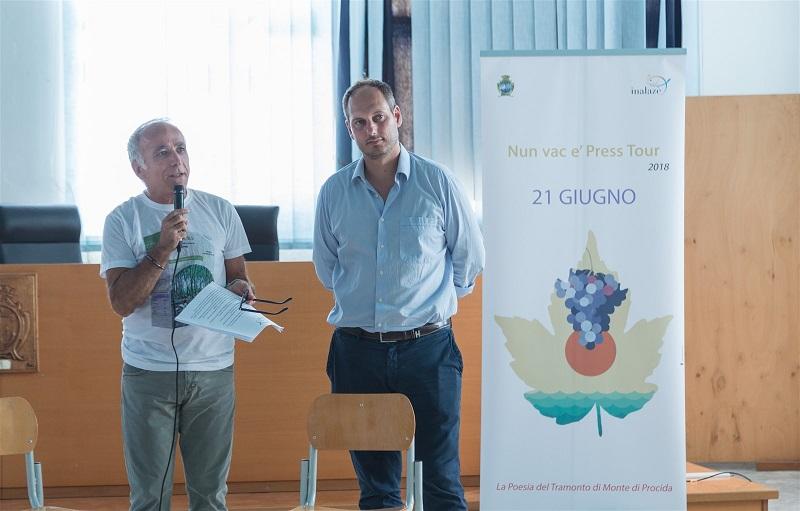 Rosario Mattera e Giuseppe Pugliese, sindaco di Monte di Procida