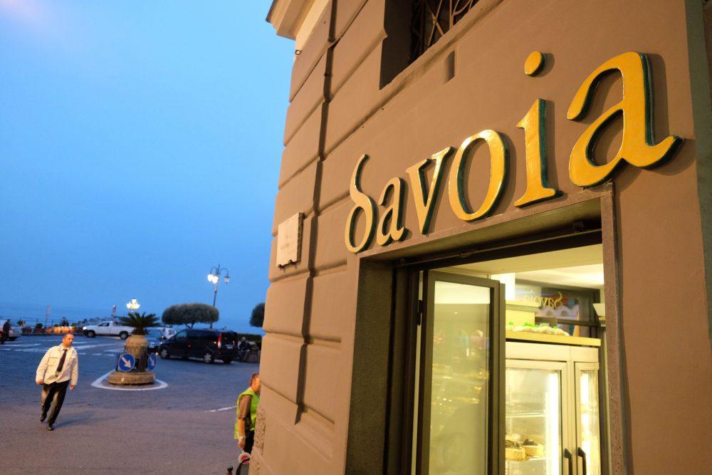 Savoia - Antica Dolceria - L'entrata del locale