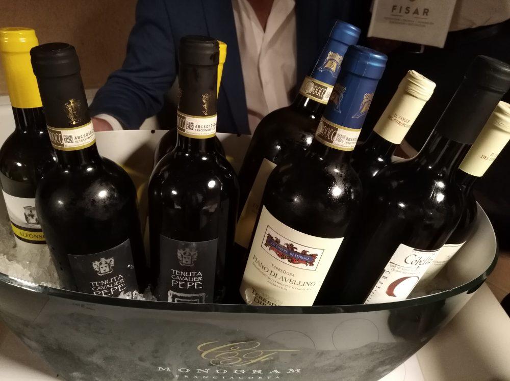Wine&Food Eichette di Fiano in degustazione