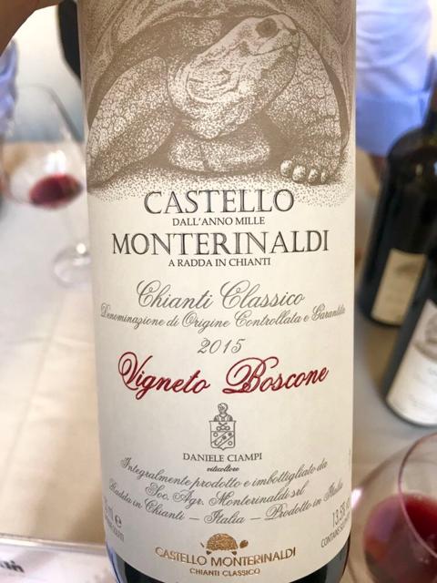 Castello di Monterinaldi -Vigneto Boscone- Chianti Classico DOCG 2015