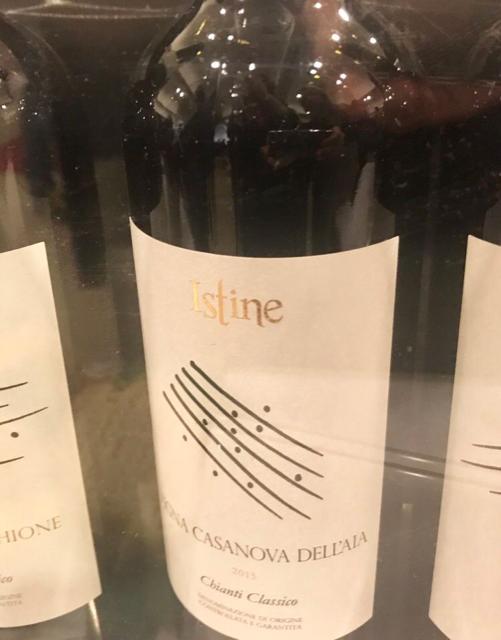 Istine Sangiovese Vigna Casanova dell'Aia Chianti Classico DOCG 2015