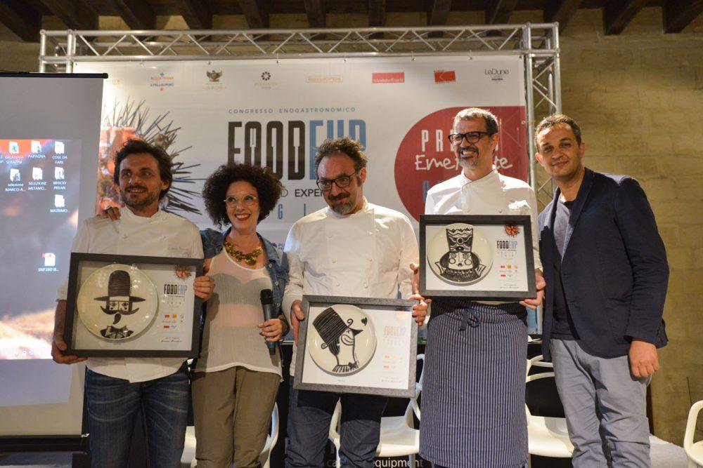 da sx Antonio Zaccardi, Sonia Gioia, Paolo Lopriore, Antonio Guida e Giovanni Pizzolante