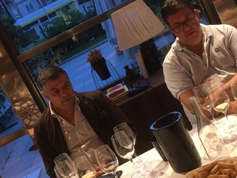 Da sx-Giancarlo Barbieri -Sertura - e Luciano Pignataro