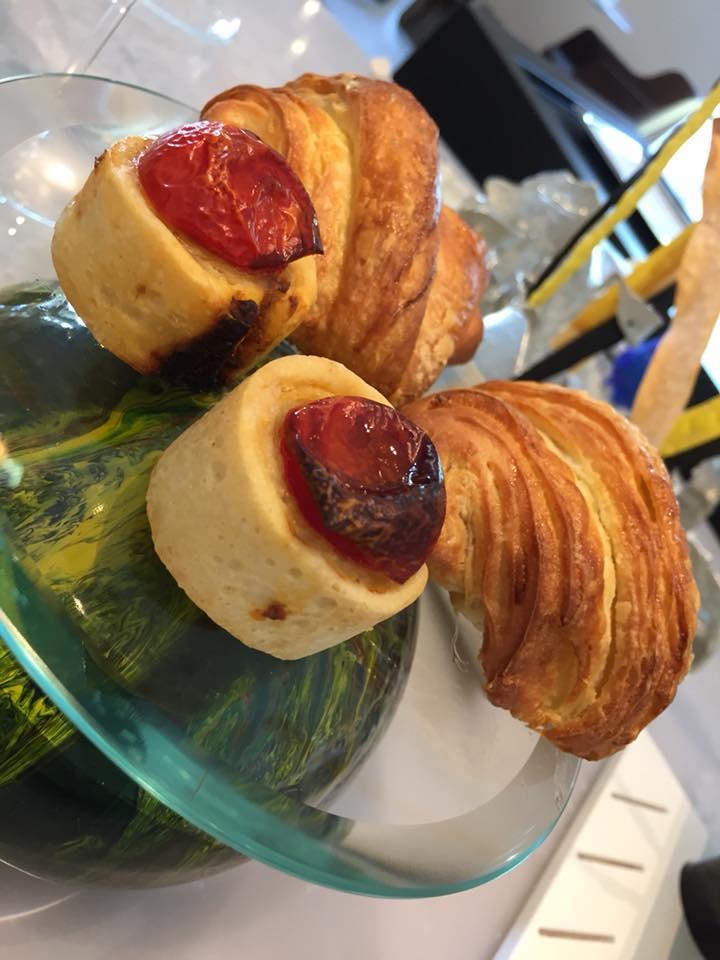 Dani' Maison, focaccia e croissant salato
