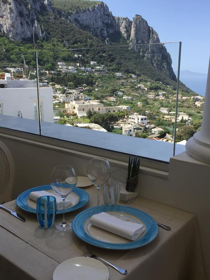 Mamma' a Capri, il panorama
