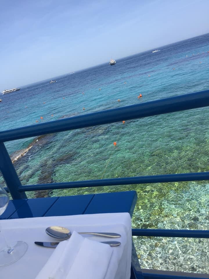 da Gemma a Capri, il mare dal terrazzo