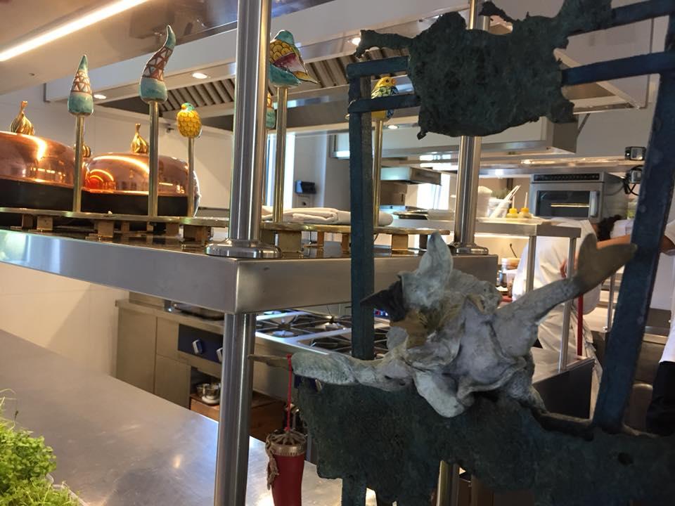 Dani' Maison, scorcio della cucina