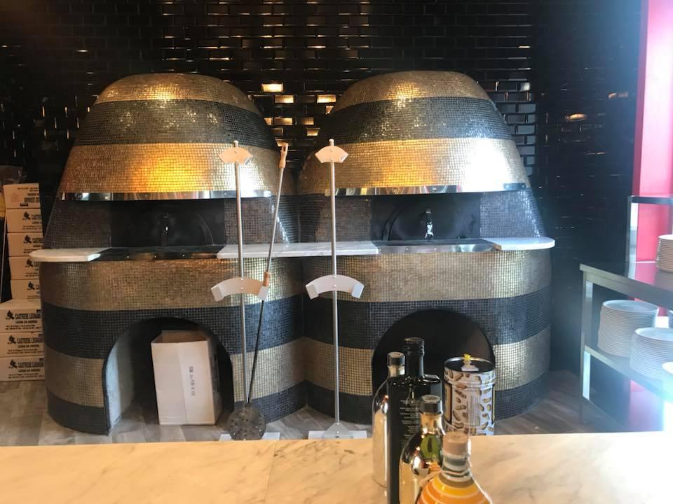 Pizzeria Carlo Sammarco 2.0, forni