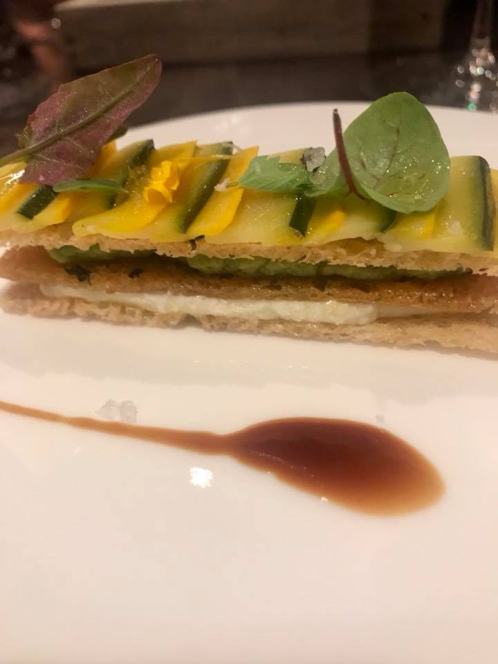 Grand Hotel Parker's Millefoglie di zucchine