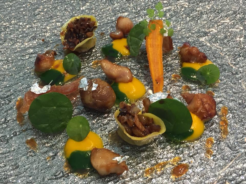 Dani' Maison, Coniglio, carote e castagne