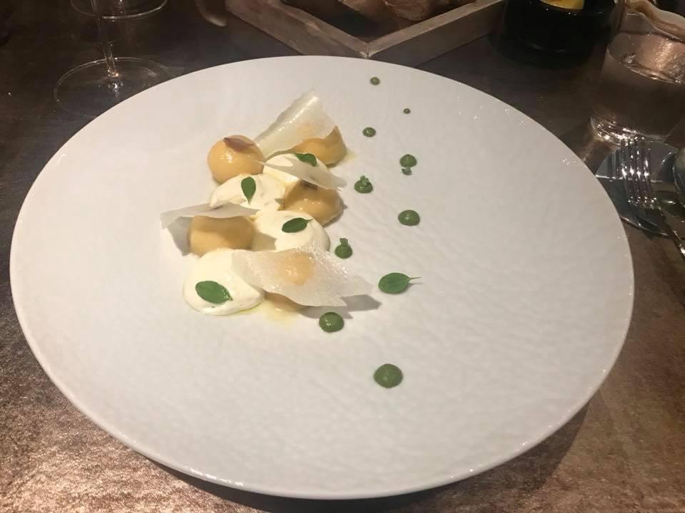 Grand Hotel Parker's Tortelli di patate con ricotta, pepe e limone