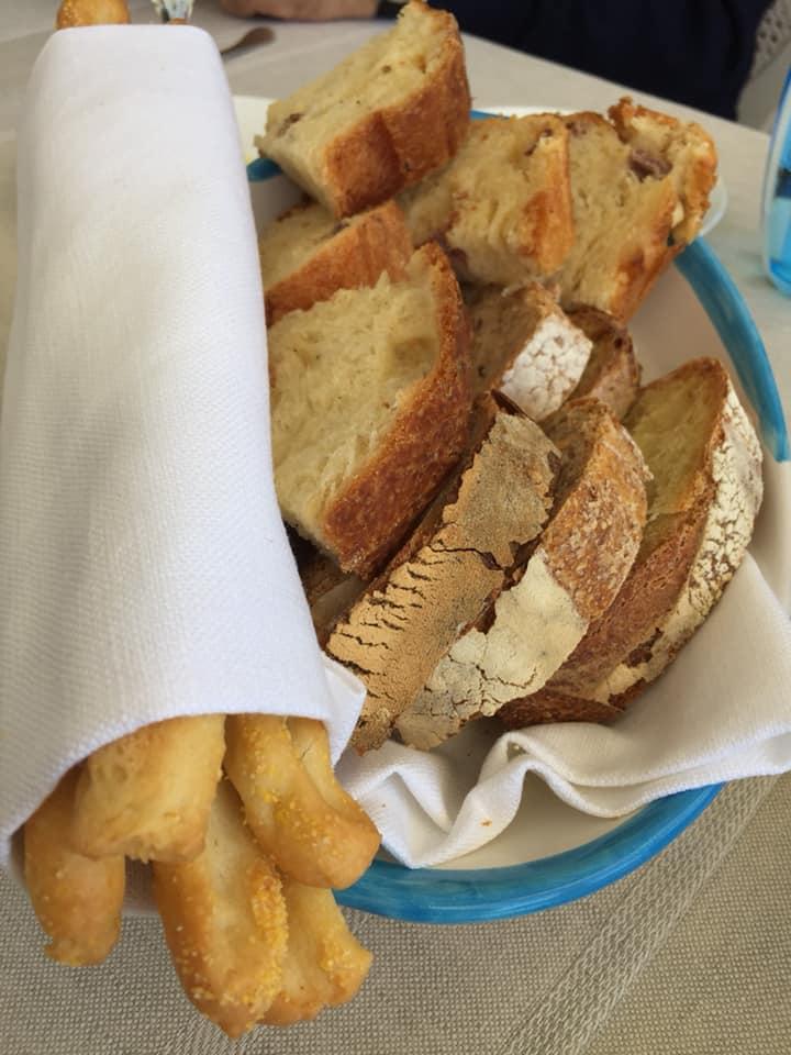 Mamma' a Capri, pane e grissini