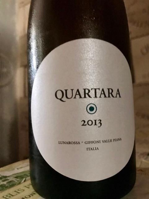 Quartara- Fiano igt colli di Salerno vendemmia 2013