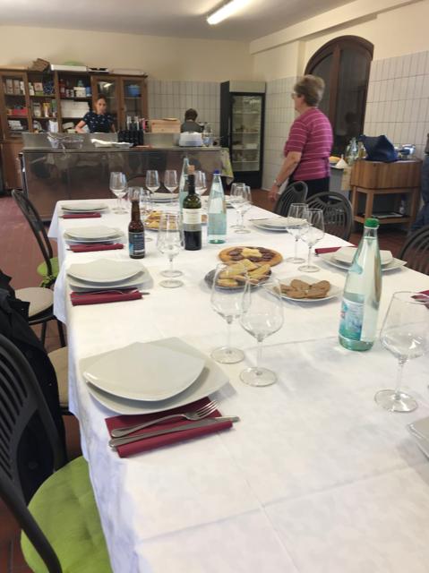 sala di degustazione