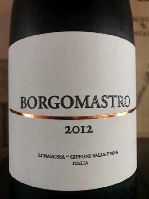 Borgomastro 2012