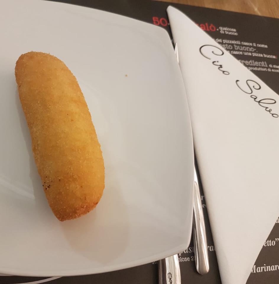 50 Kalo' Londra, crocche' di patate