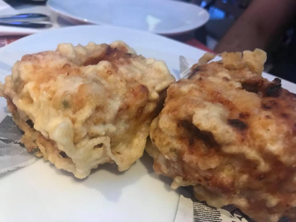 Pizzeria La Pampanini, i fritti