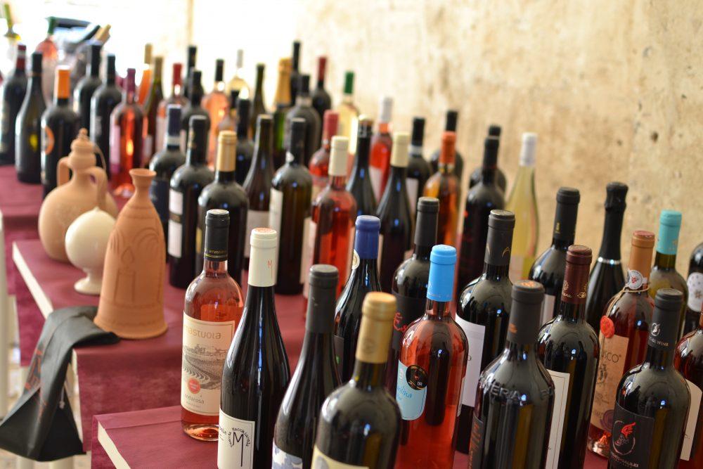 Alcune etichette di Vino e' Musica 2018