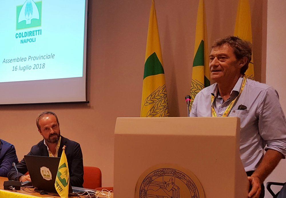 Andrea D'Ambra Presidente Coldiretti Napoli