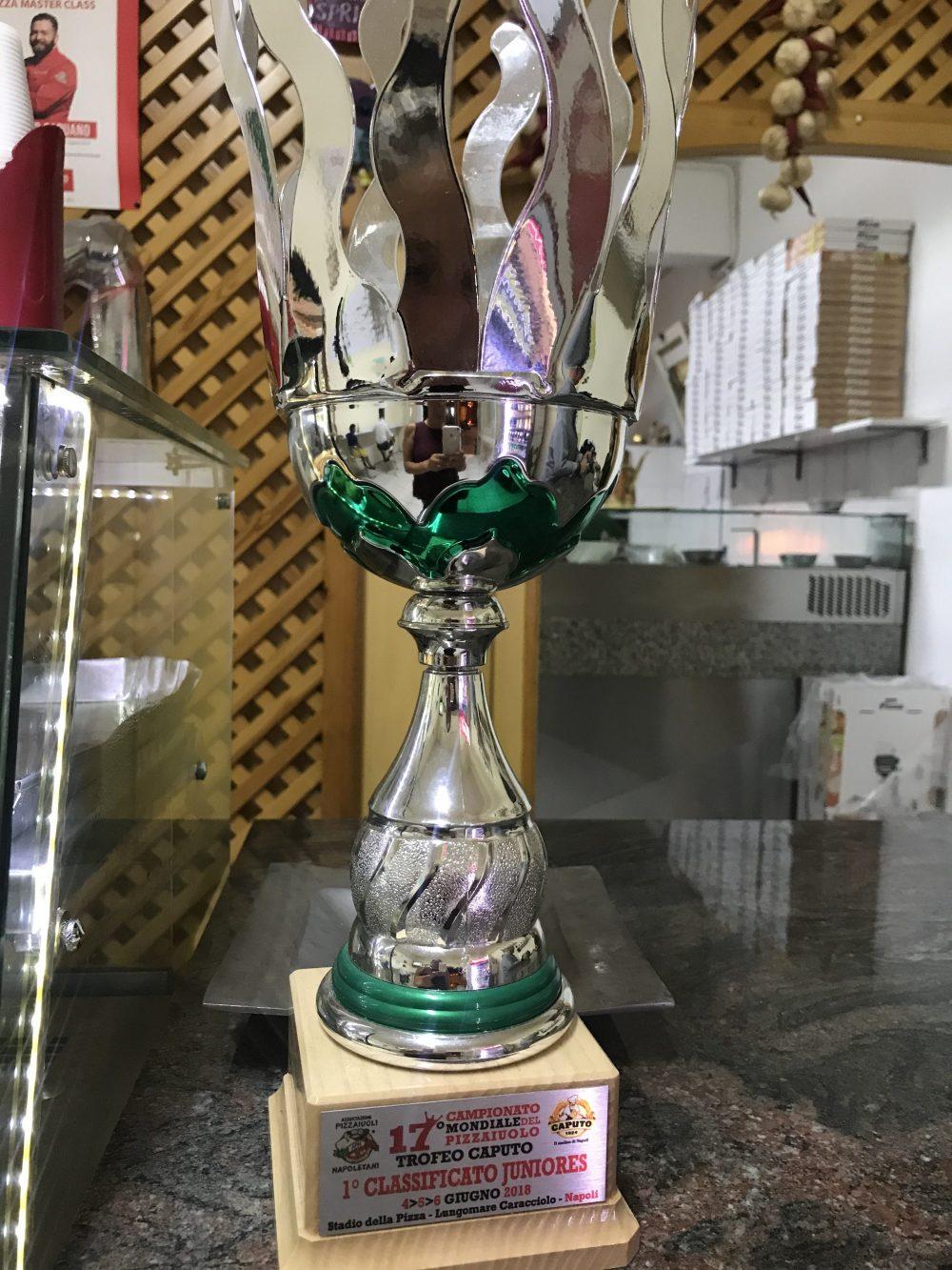 Annare' Pizza & Sfizi - ultimo trofeo conquistato dalla famiglia Capuano