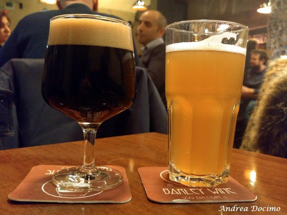 Barley Wine, Roma. Le birre