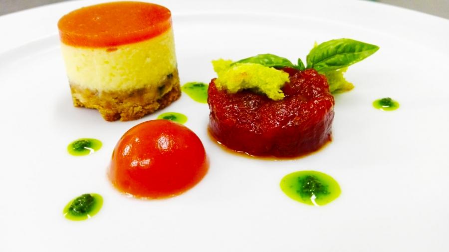 Cheesecake al pomodoro