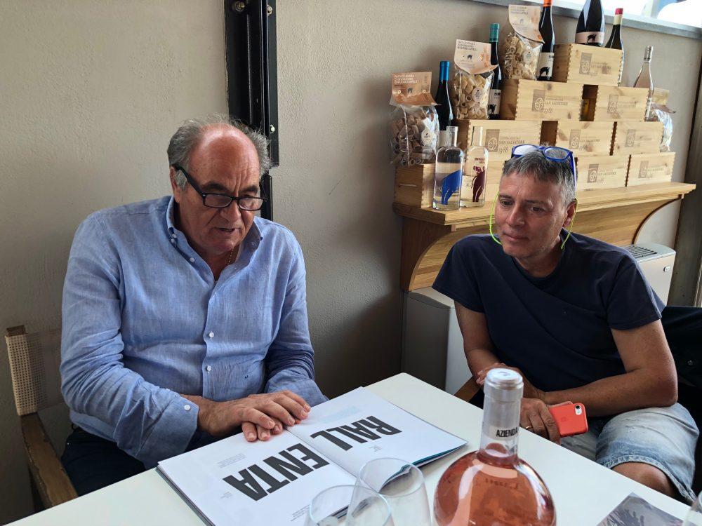 Con Peppino Pagano, Giugno 2018