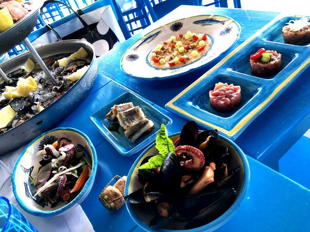 Il Riccio Restaurant - L'Antipasto di Mare del Riccio