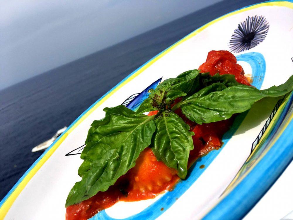 Il Riccio Restaurant - I Ravioli Capresi