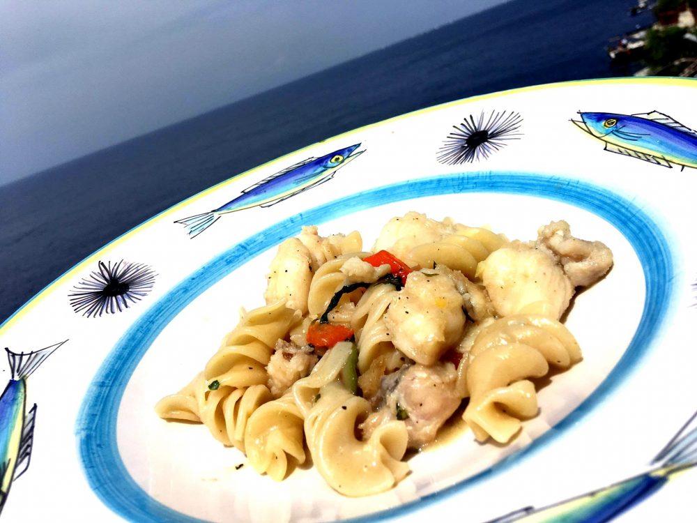 Il Riccio Restaurant - Elicoidali con Rana Pescatrice