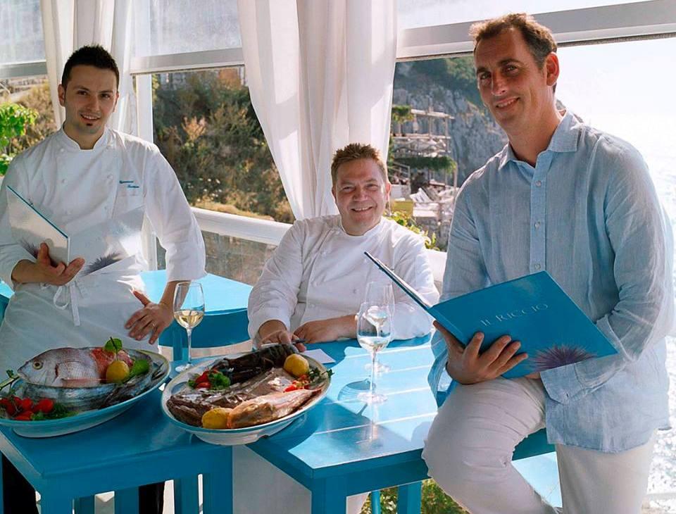 Il Riccio Restaurant - Andrea Migliaccio & Il Team del Riccio