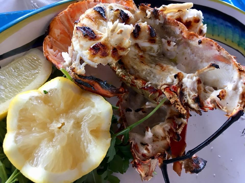 Il Riccio Restaurant - L'Aragosta alla Griglia