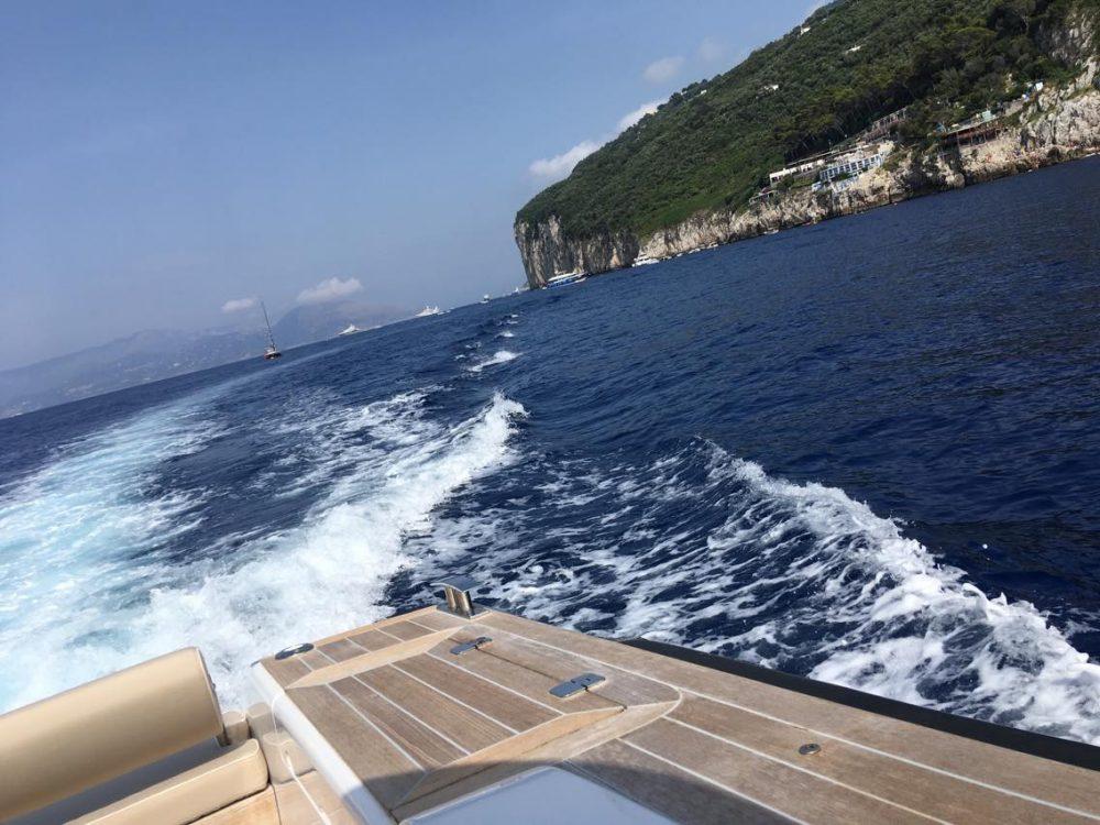 In Barca...verso Marina Grande
