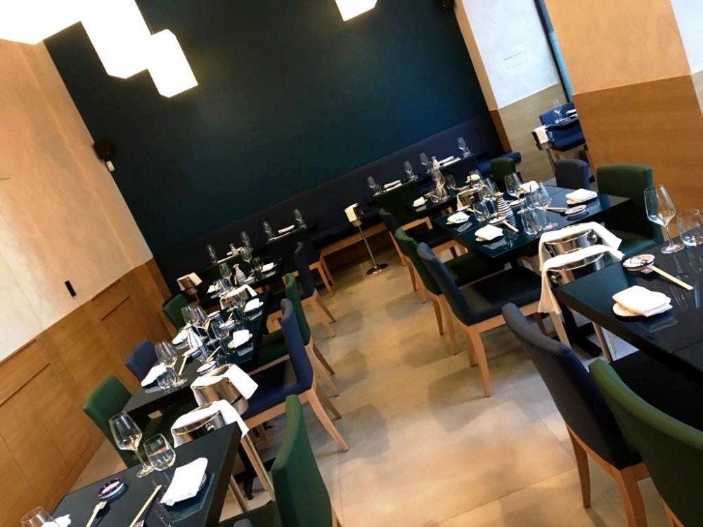 Tabi Restaurant, la sala