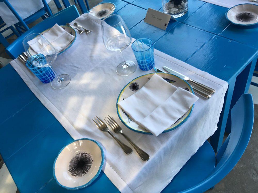 Il Riccio Restaurant - Ligne de Table di Sala