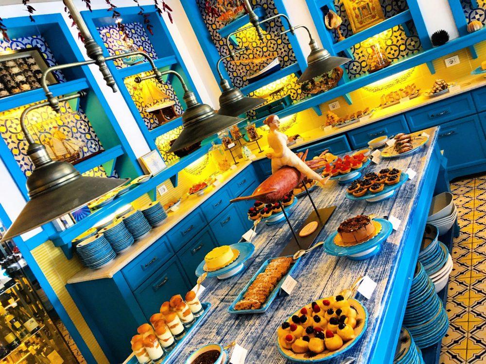 Il Riccio Restaurant - La Stanza dei Dolci, Il Paradiso delle Tentazioni