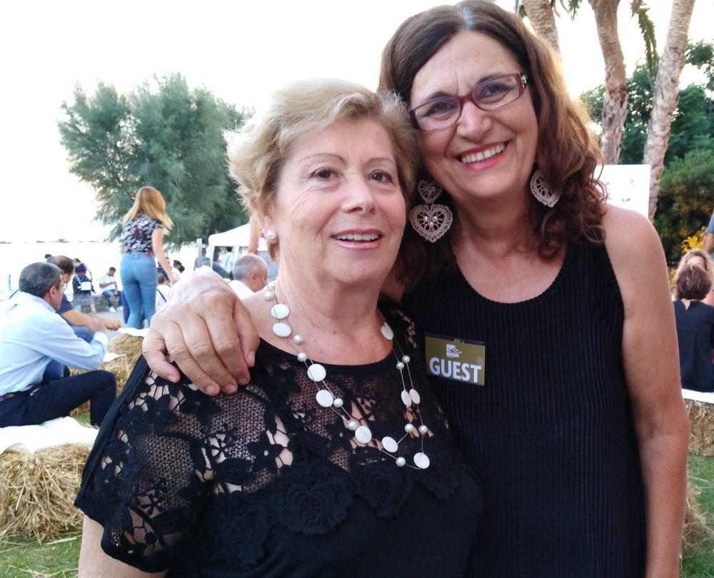 Festa dei Grani Antichi - Giovanna Voria con Eugenia Malgi