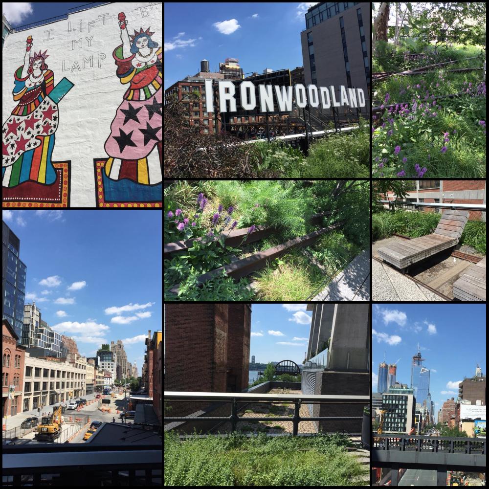 High Line, scorci