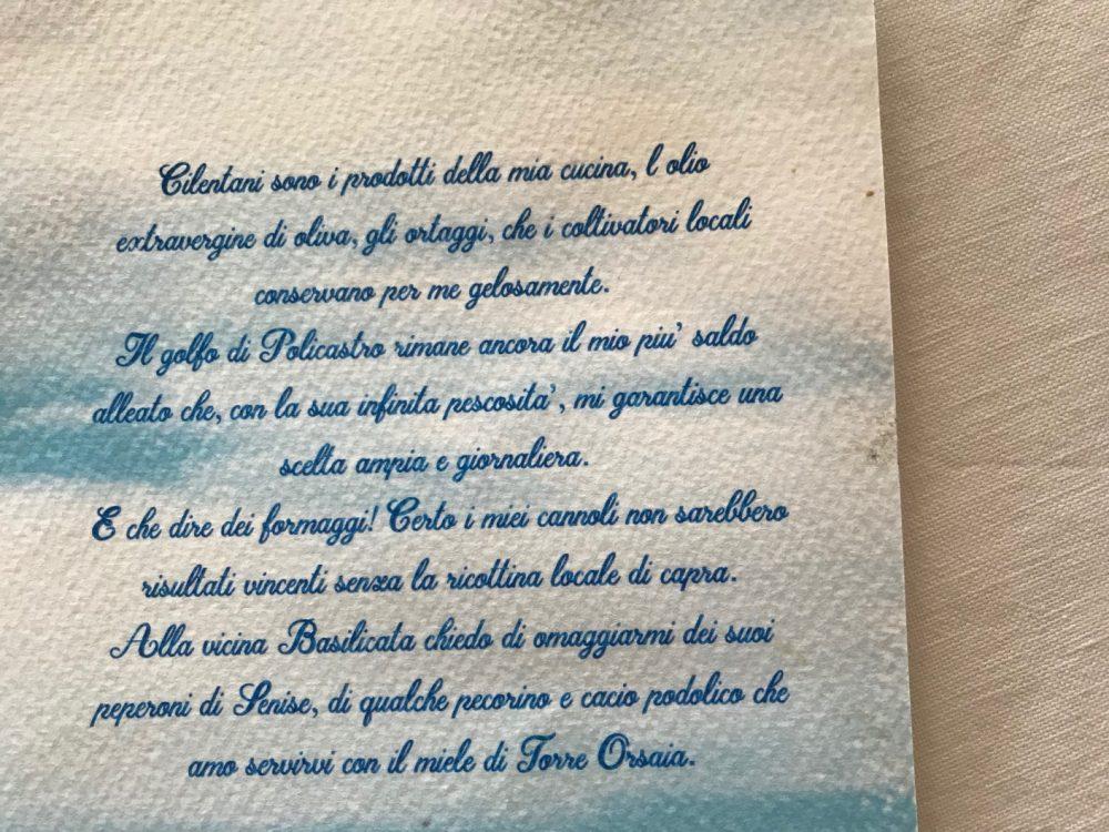 Il Ghiottone, la dichiarazione d'intenti di Maria Rina