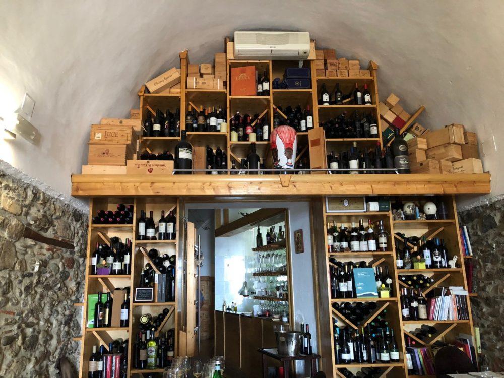 La Cantinella, vini e cucina a vista