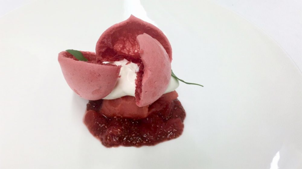La Locanda Relais Sant'Uffizio - Fragola yogurt e basilico