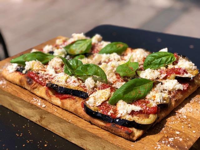 La Parmigiana della Pizzeria Sancho