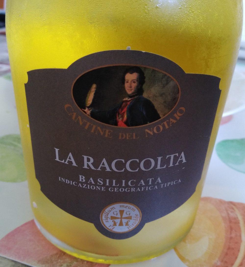 La Rccolta Basilicata Igt 2017 Cantine del Notaio