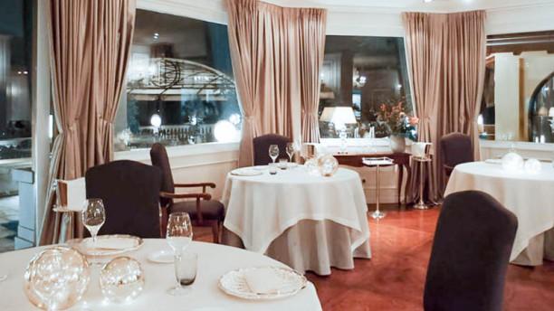 La sala del Da Vittorio