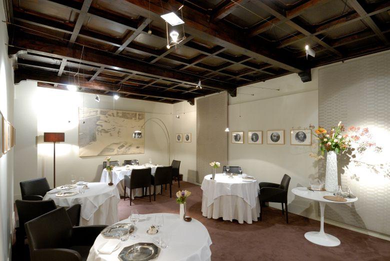 La sala dell'Osteria Francescana