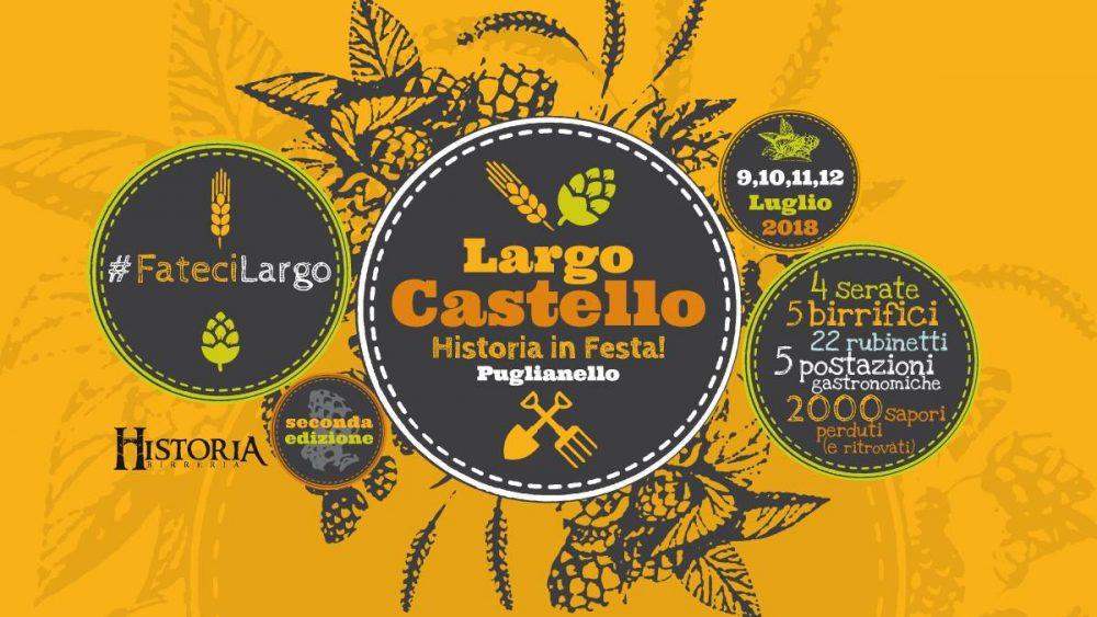 Largo Castello Historia in Festa. 2018